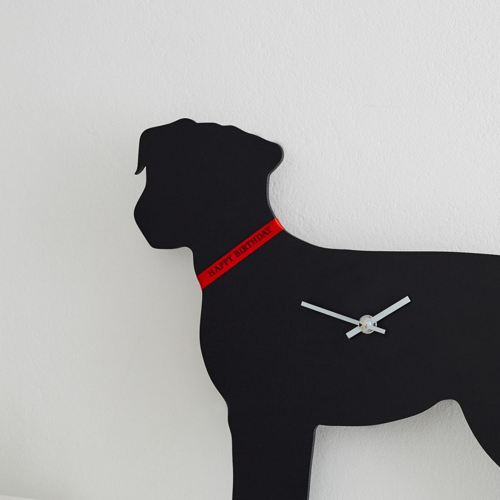 The Labrador Company-Border Terrier Clock 3