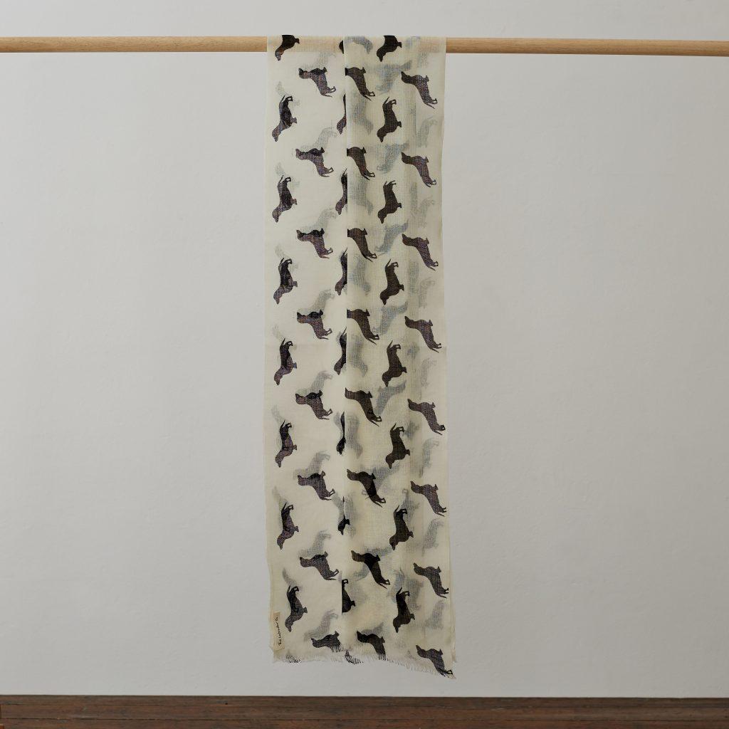 The Labrador Company-Cashmere Labrador Scarf 182