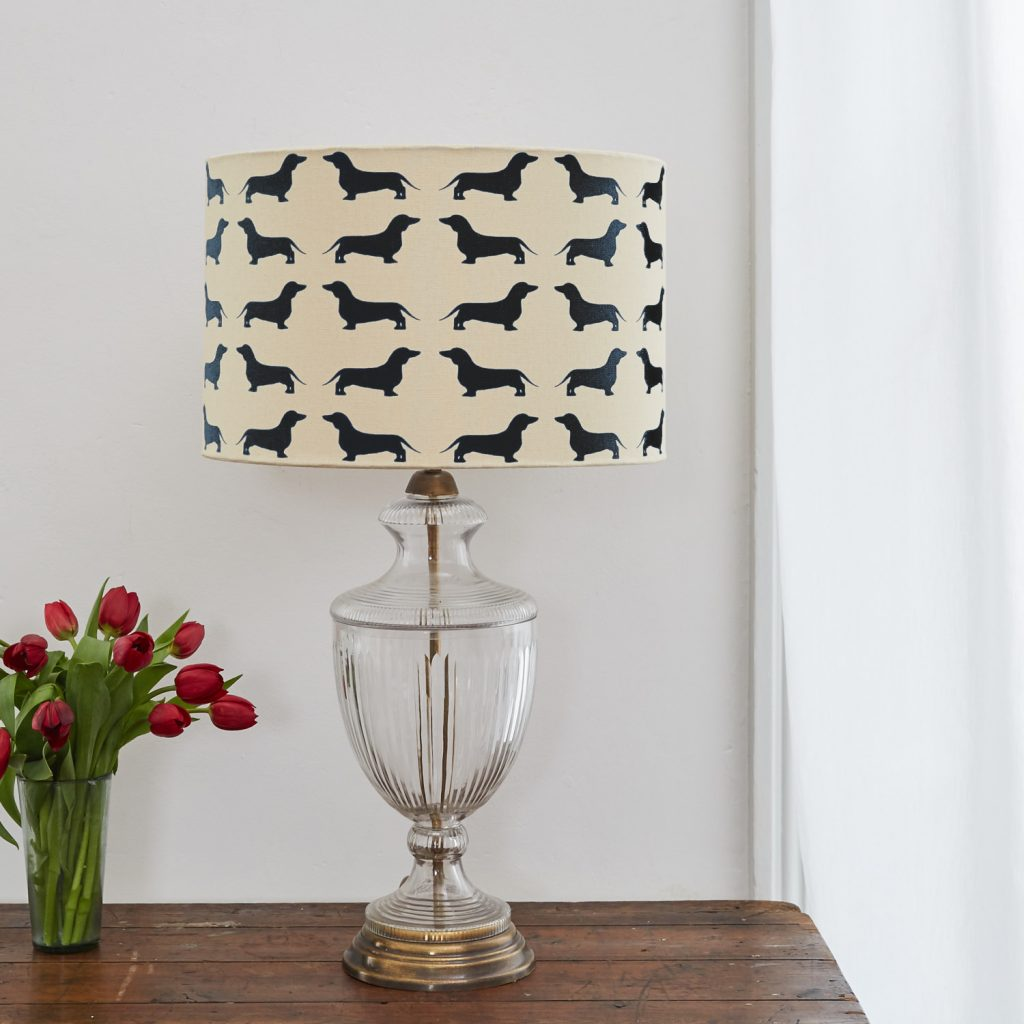 The Labrador Company-Dachshund Lampshade Large 1