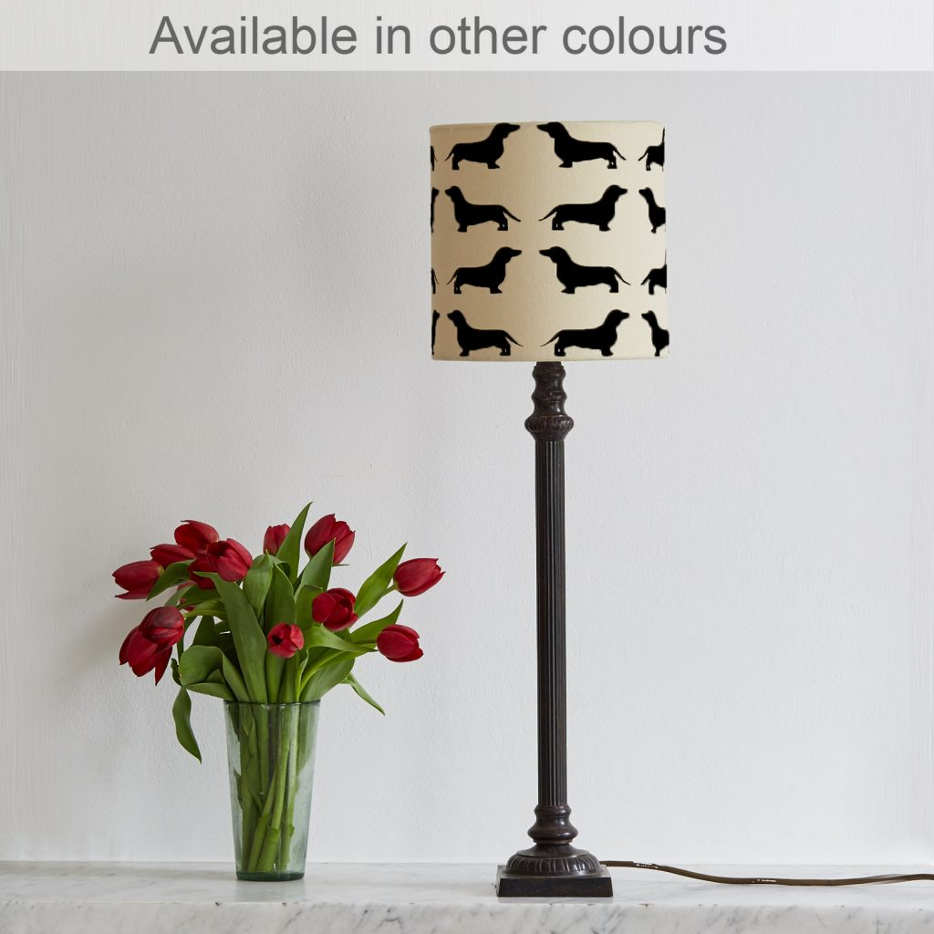 The Labrador Company-Dachshund Lampshade Small