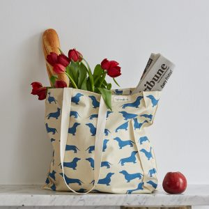 The Labrador Company-Dachshund Tote Bag 1