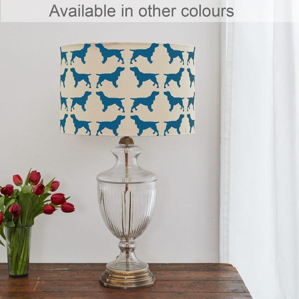 The Labrador Company-Spaniel Lampshade Large