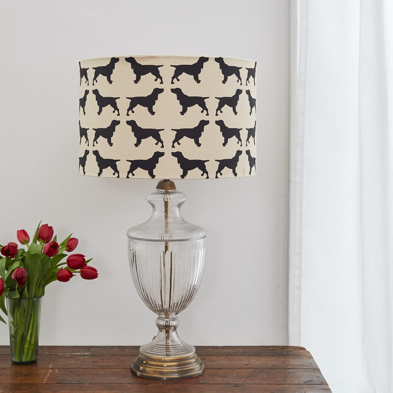 The Labrador Company-Spaniel Lampshade Large 1