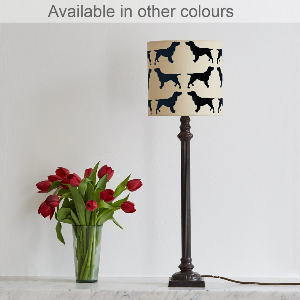 The Labrador Company-Spaniel Lampshade Small