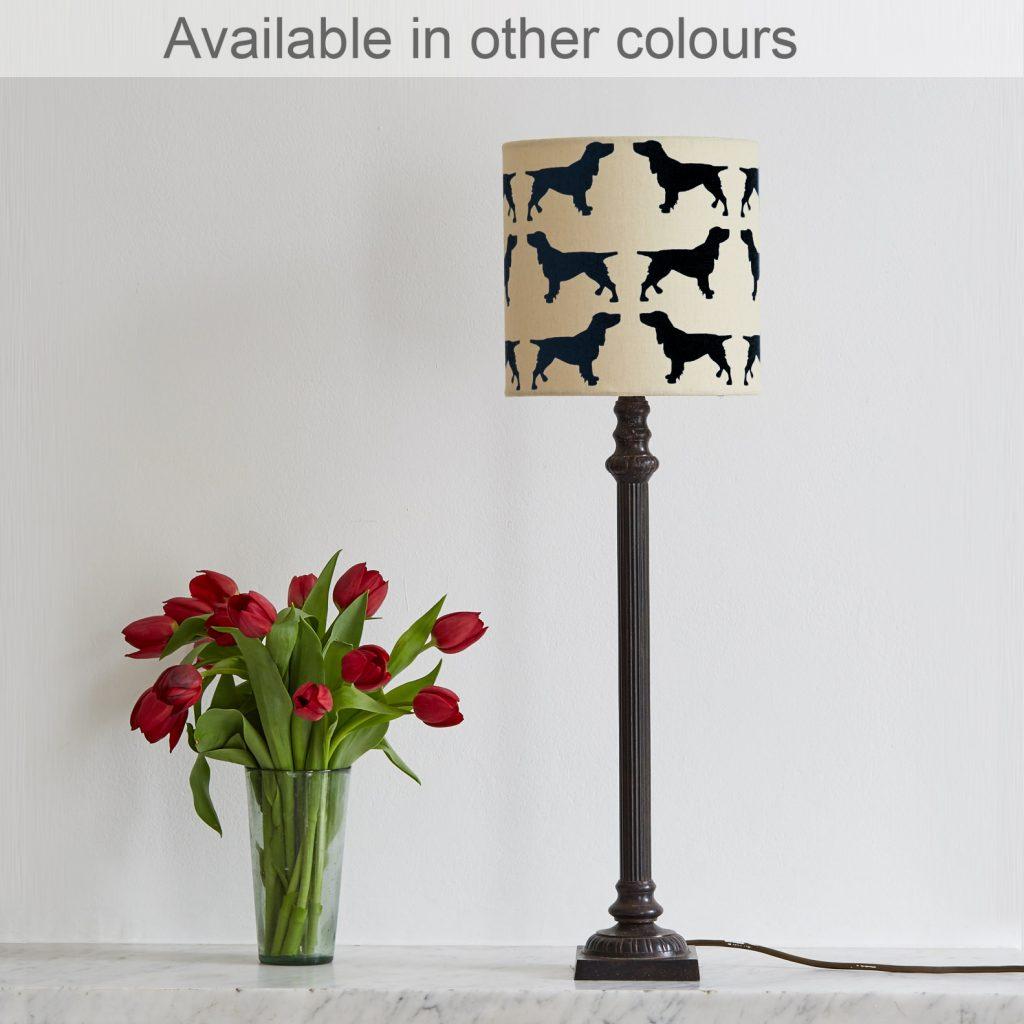 The Labrador Company-Spaniel Lampshade Small