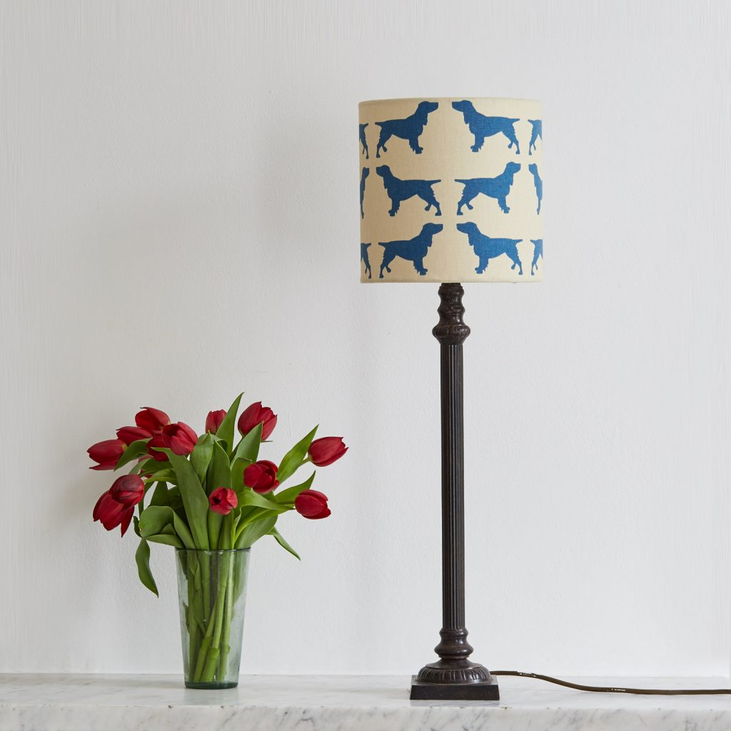 The Labrador Company-Spaniel Lampshade Small 2