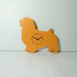 The Labrador Co.-Orange Terrier Clock with wagging tail - last one!