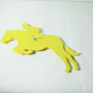 The Labrador Co.-Yellow show jumper clock with wagging tail - last one!