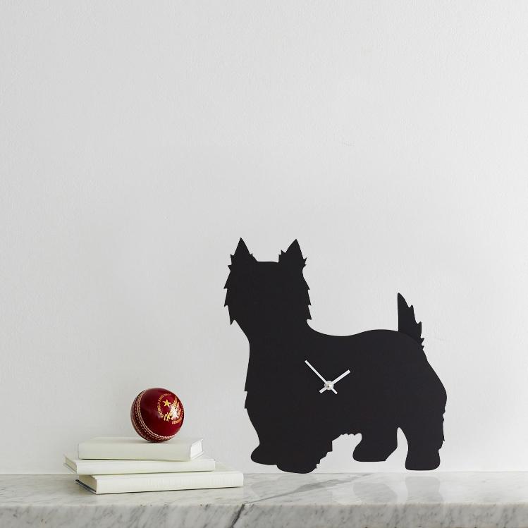 The Labrador Co.-West Highland Terrier Clock 1
