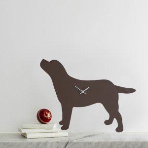 The Labrador Co.-Labrador Clock - Brown 3