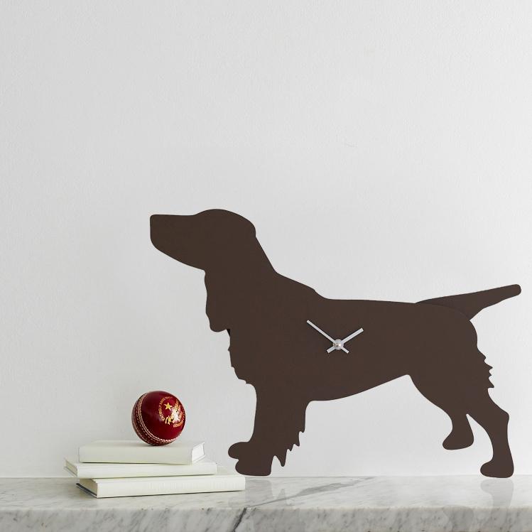The Labrador Co.-Spaniel Clock - Brown 3