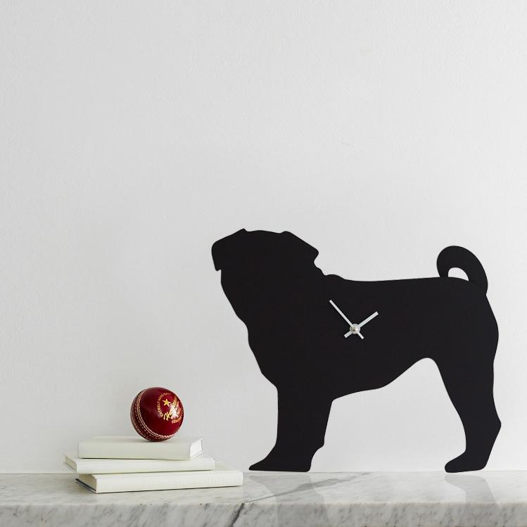 The Labrador Co.-Pug Clock 1