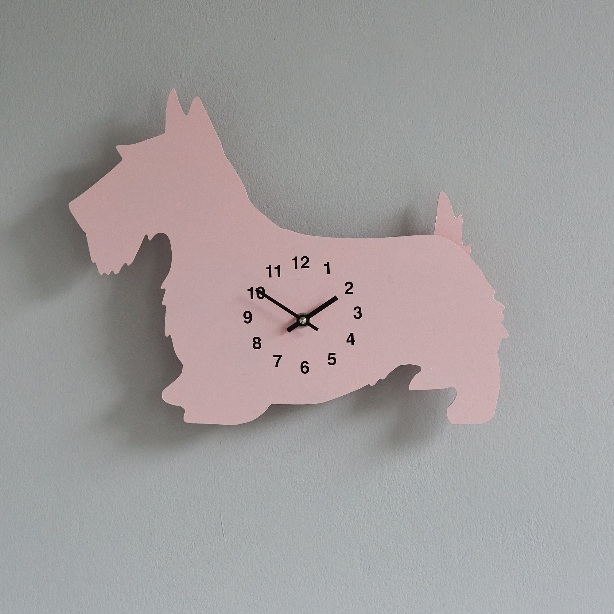 The Labrador Co.-Pink Dressage  Clock with wagging tail - last one! (Copy)