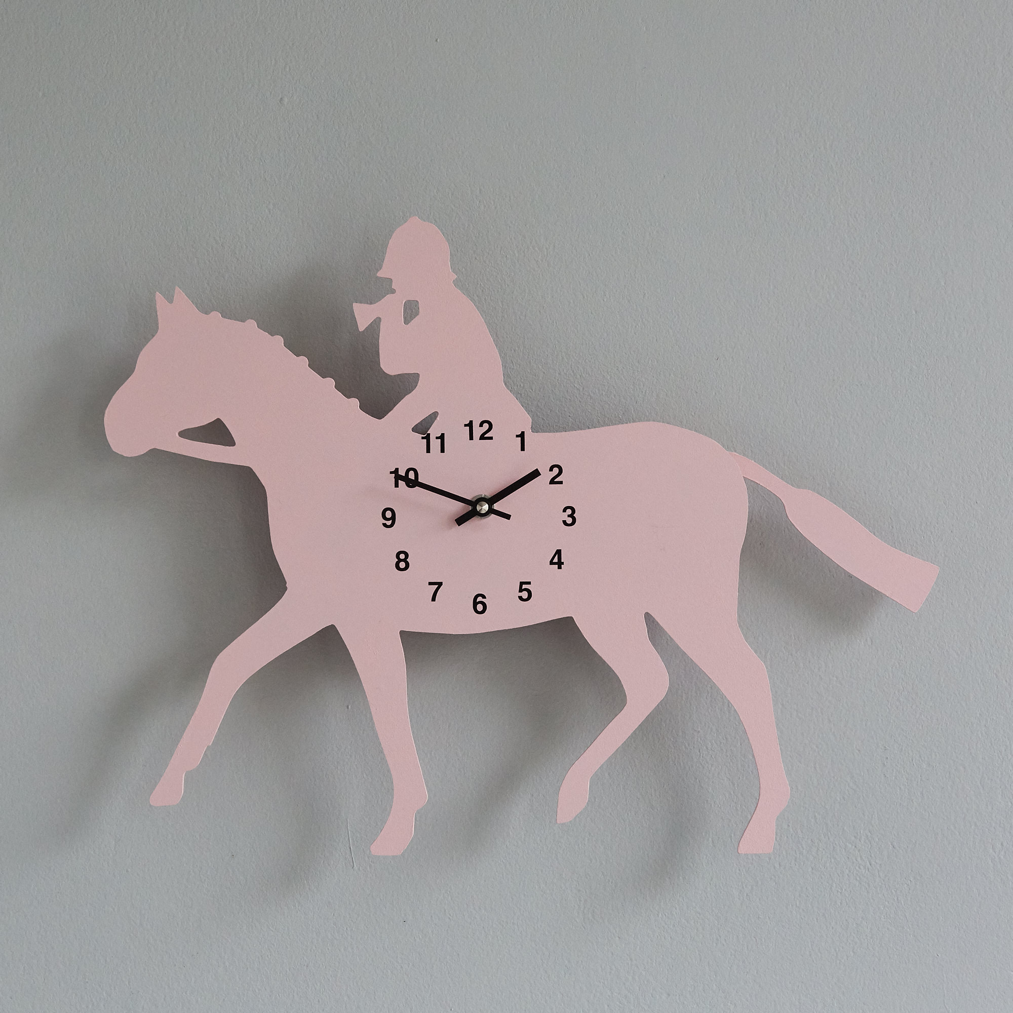 The Labrador Co.-Pink Rhino Clock with wagging tail - last one! (Copy)