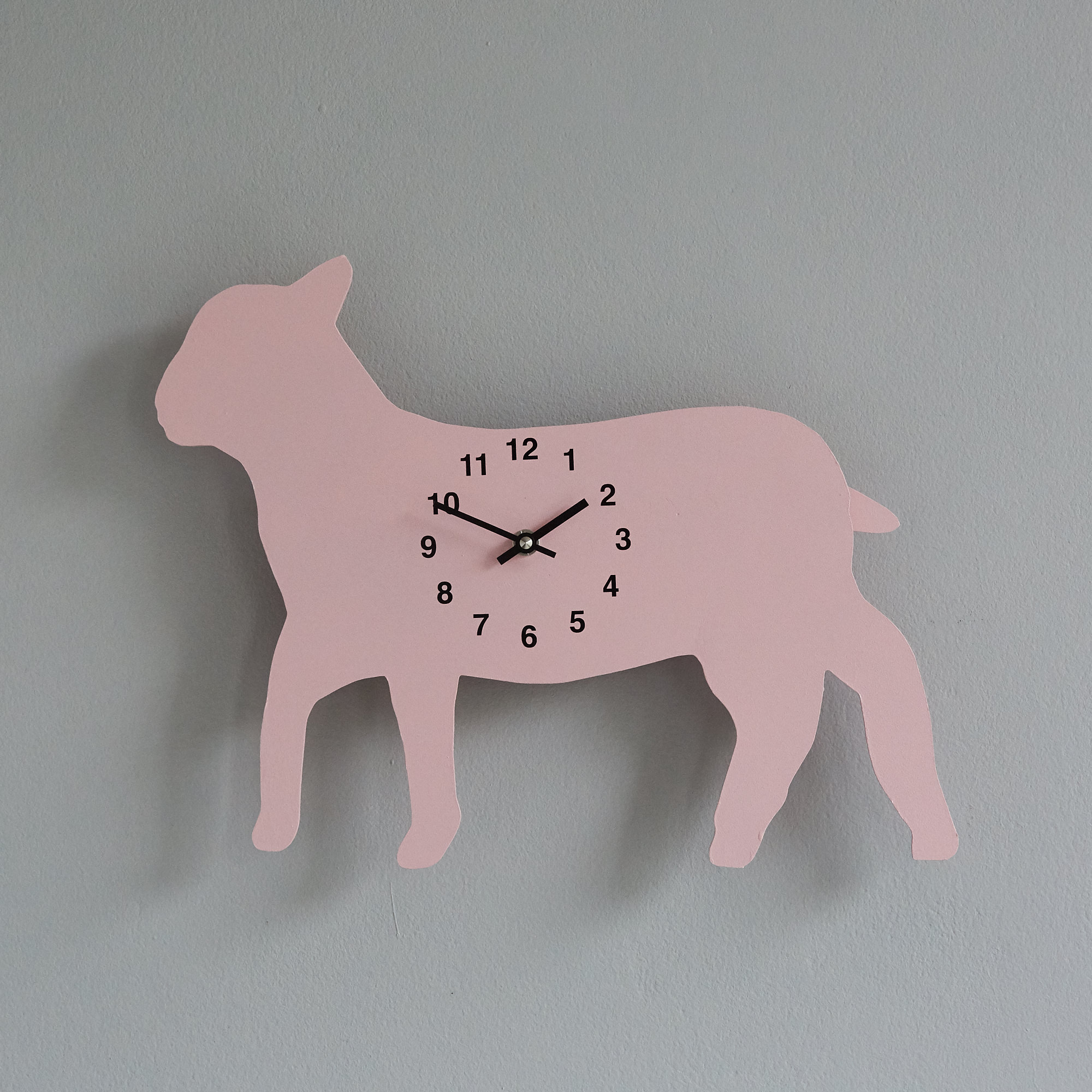 The Labrador Co.-Pink Race Horse Clock with wagging tail - last one! 1