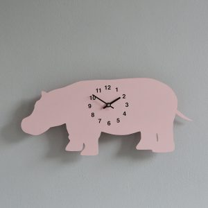 The Labrador Co.-Pink Race Horse Clock with wagging tail - last one! 2