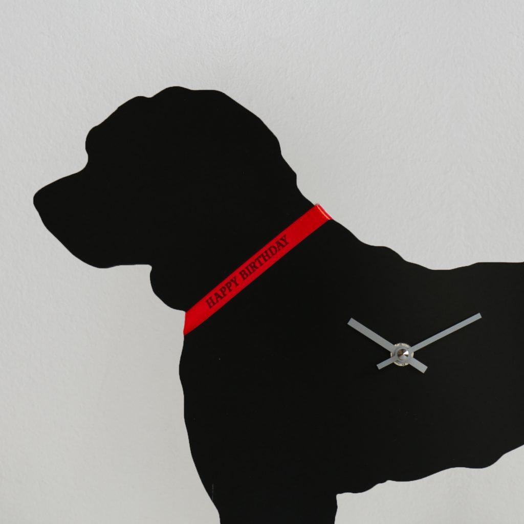 The Labrador Co.-Cockapoo Clock
